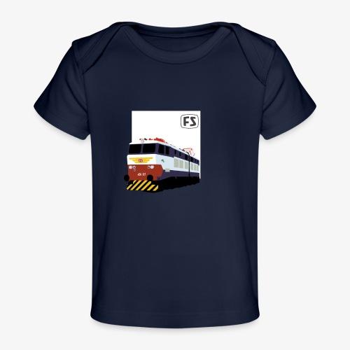 FS E 656 Caimano - Maglietta ecologica per neonato