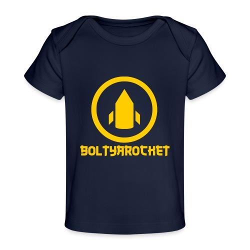 Bolt Ya Rocket - Organic Baby T-Shirt