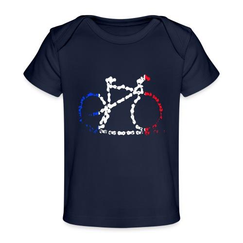 French bike chain - Organic Baby T-Shirt