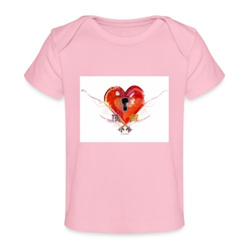 stvalentinmotif2 - T-shirt bio Bébé
