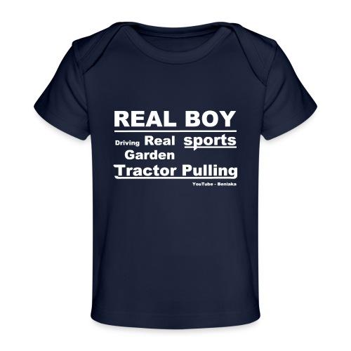 teenager - Real boy - Økologisk T-shirt til baby