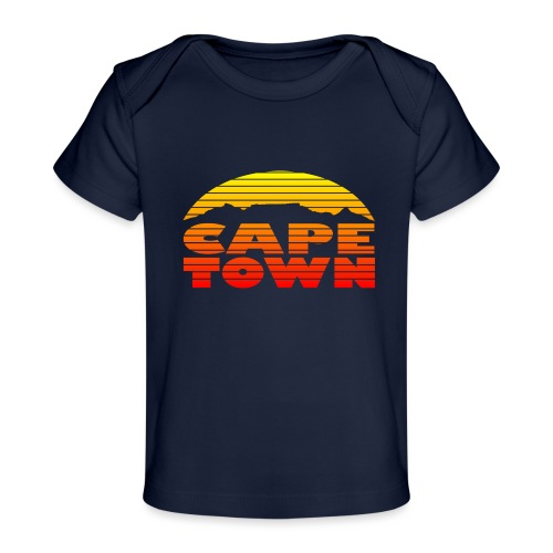TableMountain-Sunset - Baby Bio-T-Shirt