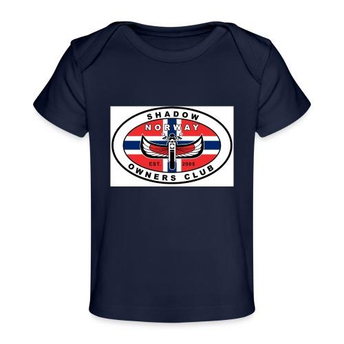 SHOC Norway Patch jpg - Økologisk baby-T-skjorte
