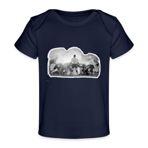 Rugby Scrum - Organic Baby T-Shirt