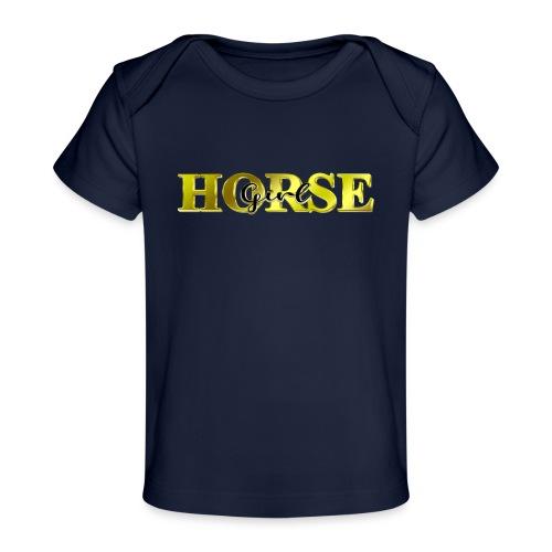 Horsegirl Reiten Pferde Geschenk - Baby Bio-T-Shirt