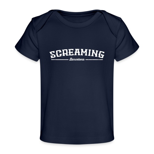 SCREAMING - Camiseta orgánica para bebé