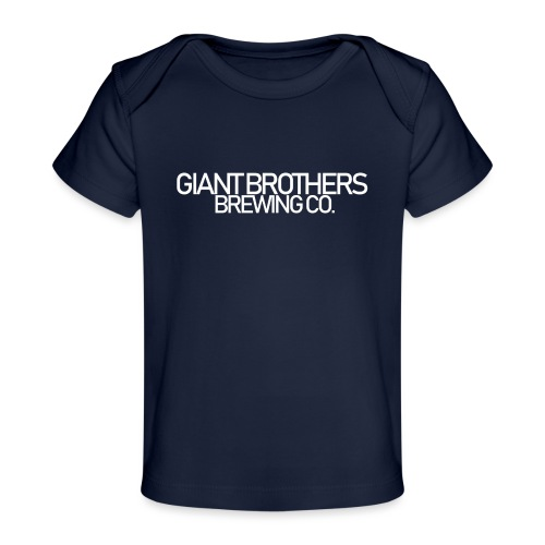 Giant Brothers Brewing co white - Ekologisk T-shirt baby