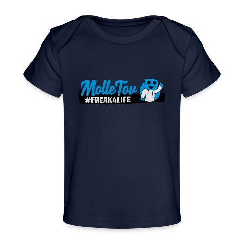 Nyt Logo4 - Økologisk T-shirt til baby
