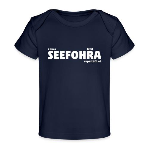 supatrüfö SEEFOHRA - Baby Bio-T-Shirt
