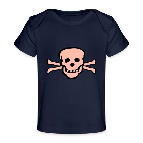 skull tattoo style - Baby Bio-T-Shirt