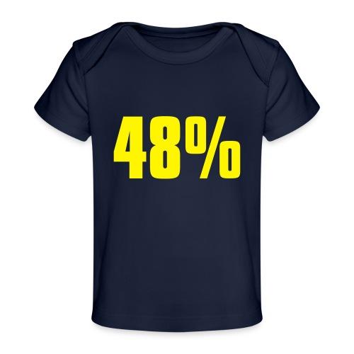 48% - Organic Baby T-Shirt