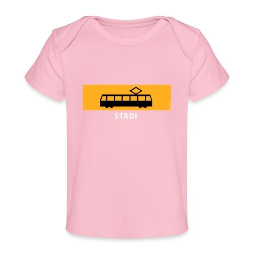 STADIN RATIKKA PYSÄKKI KYLTTI T-paidat ja lahjat - Vauvojen luomu-t-paita
