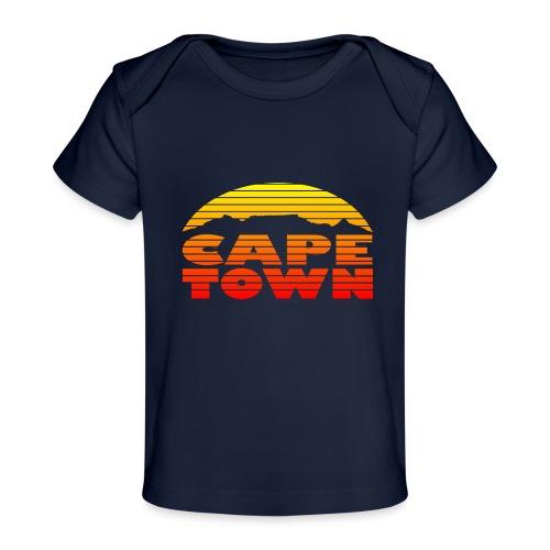 TableMountain-Sunset - Baby Bio-T-Shirt