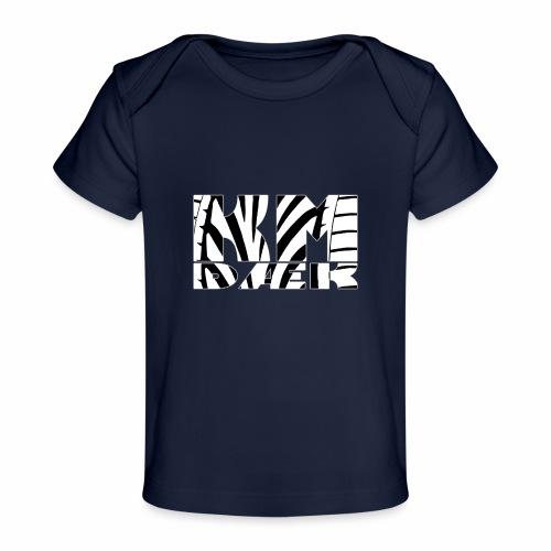 KM_white - Økologisk T-shirt til baby