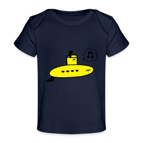 Singing Yellow Submarine - Organic Baby T-Shirt