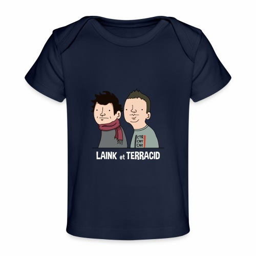 Laink et Terracid - T-shirt bio Bébé
