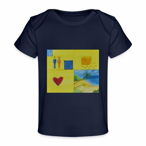 Viererwunsch - Baby Bio-T-Shirt