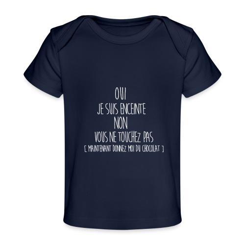 T-Shirt-Femme-Enceinte - T-shirt bio Bébé