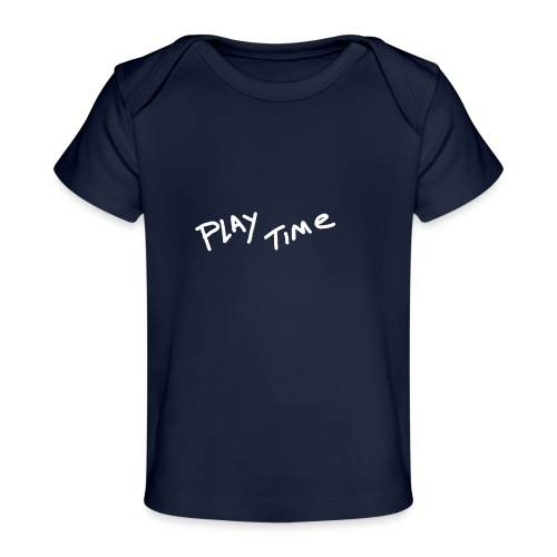 Play Time Tshirt - Organic Baby T-Shirt