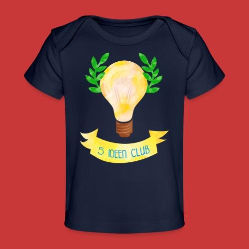 5 IDEEN CLUB Glühbirne 2018 - Baby Bio-T-Shirt