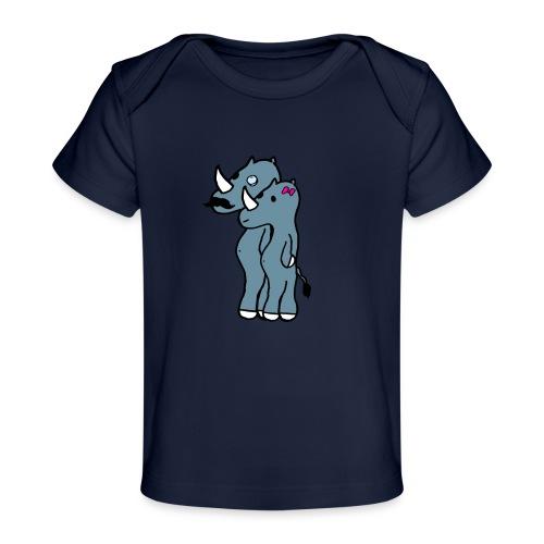 rino hommies - Maglietta ecologica per neonato