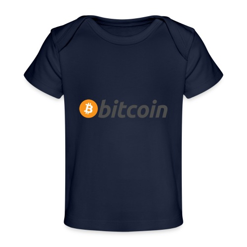 bitcoin MOON - Baby Bio-T-Shirt
