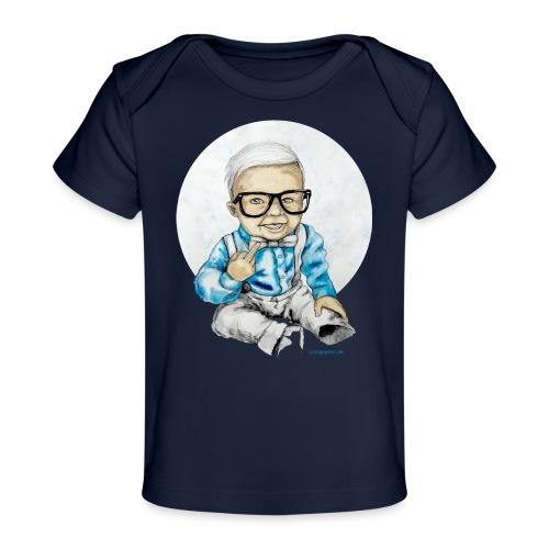 Naughty Boy, carographic - Baby Bio-T-Shirt