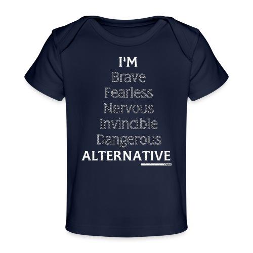 I'm Hoodie Black - Ekologiczna koszulka dla niemowląt