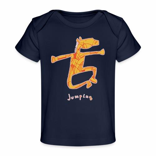 Jumping Horse - Baby bio-T-shirt
