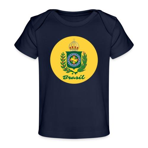 Monarquia Brasil - Økologisk baby-T-skjorte