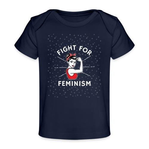 shirt designer feminism - Camiseta orgánica para bebé