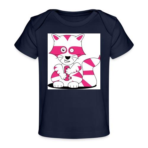 randolpf the raging racoon Digitalmotiv - Baby Bio-T-Shirt