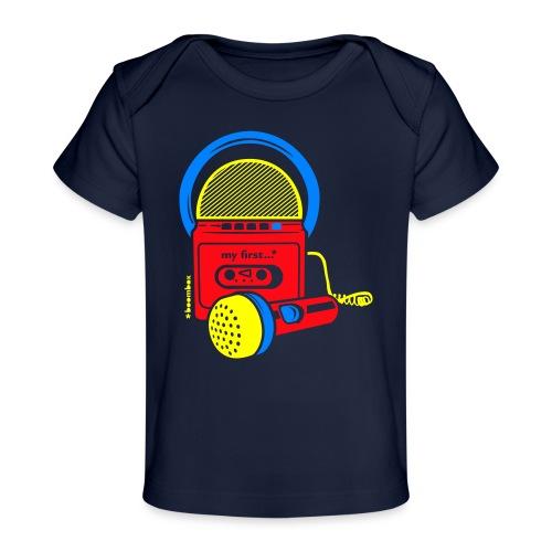My first Boombox - Baby bio-T-shirt
