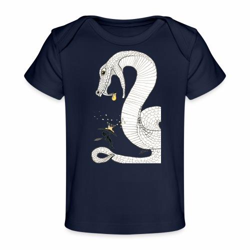 Poison - Combat contre un serpent venimeux géant - T-shirt bio Bébé