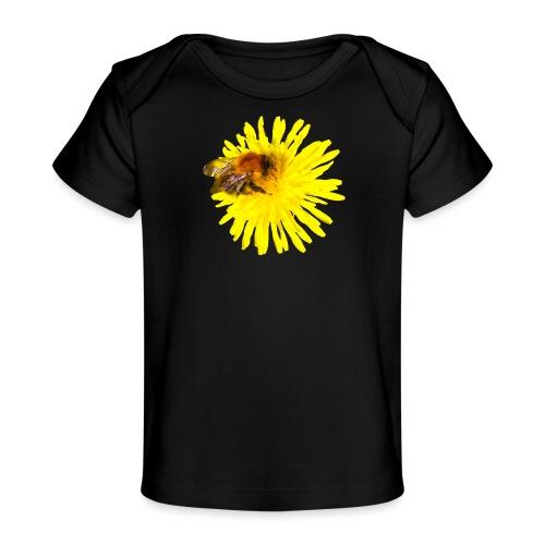 Voikukka ja kimalainen - Vauvojen luomu-t-paita