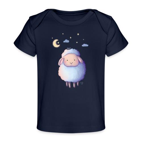 Gute Nacht, kleines Schäfchen - Baby Bio-T-Shirt