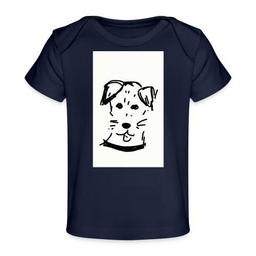 piesek - Ekologiczna koszulka dla niemowląt