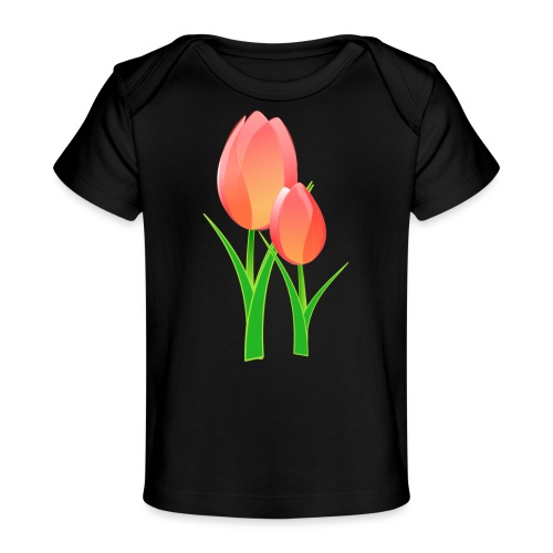 Belle fleur - T-shirt bio Bébé
