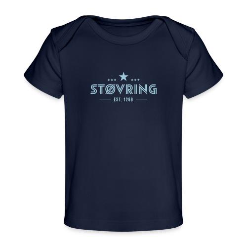 Støvring Stars - Økologisk T-shirt til baby