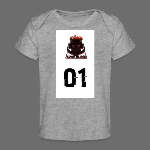 Boar blood 01 - Ekologiczna koszulka dla niemowląt