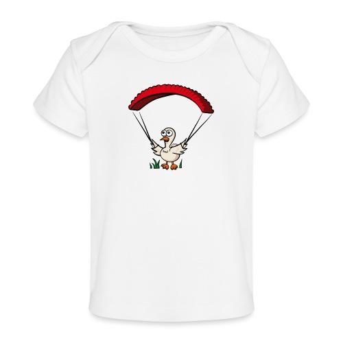 Groundhendl Groundhandling Hendl Paragliding - Baby Bio-T-Shirt