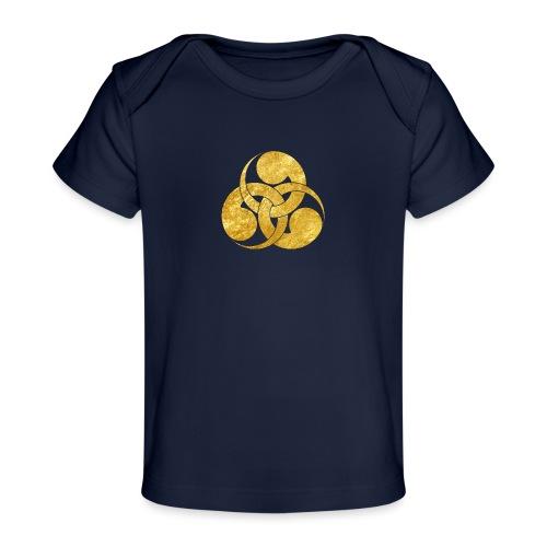 Tadpole Mon Japanese samurai clan - Organic Baby T-Shirt