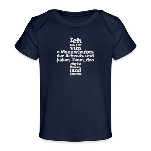 Fan von zwei Mannschaften - Baby Bio-T-Shirt