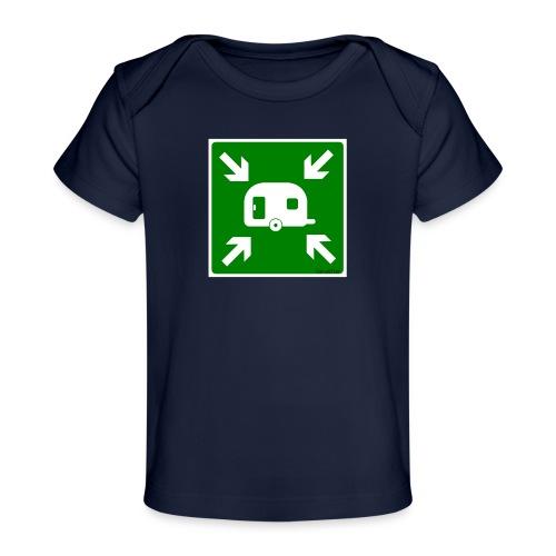 Meeting Point Caravan - Baby Bio-T-Shirt