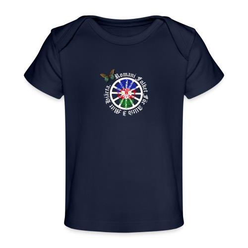 LennyhjulRomaniFolketivitfjerliskulle - Ekologisk T-shirt baby