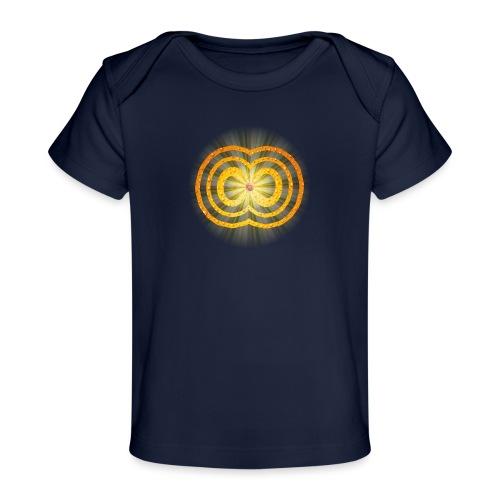 leuchtende / strahlende unendliche Liebe - Spirit - Baby Bio-T-Shirt