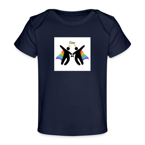 LGBT Gay - Økologisk T-shirt til baby