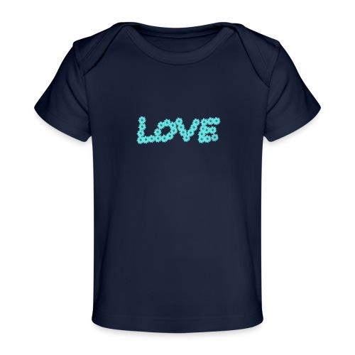 Love flowers - Ekologisk T-shirt baby