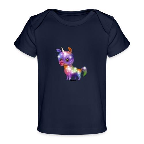 Llamakorn - Ekologiczna koszulka dla niemowląt