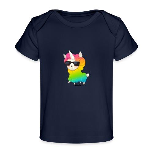 Regenboog animo - Baby bio-T-shirt